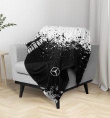 Плед Mercedes-Benz abstract sport uniform