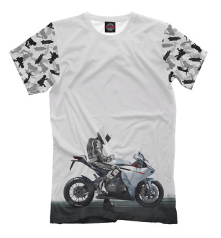 Мужская футболка Мото