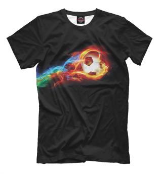 Мужская футболка Футбольный мяч