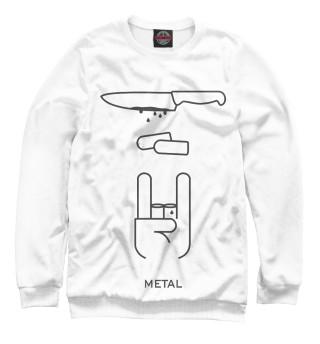 Мужской свитшот METAL
