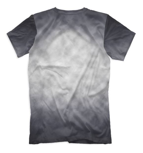 Мужская футболка с изображением Одна история - один народ цвета Белый