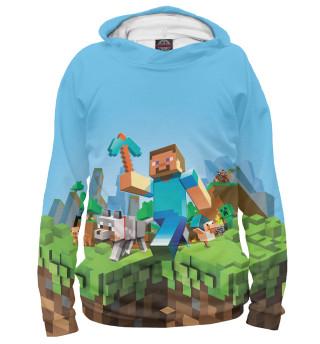 Мужское худи Minecraft