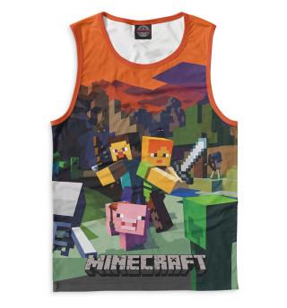 Майка для мальчика Minecraft