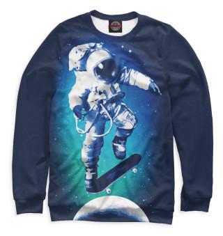 Космонавт-скейтер