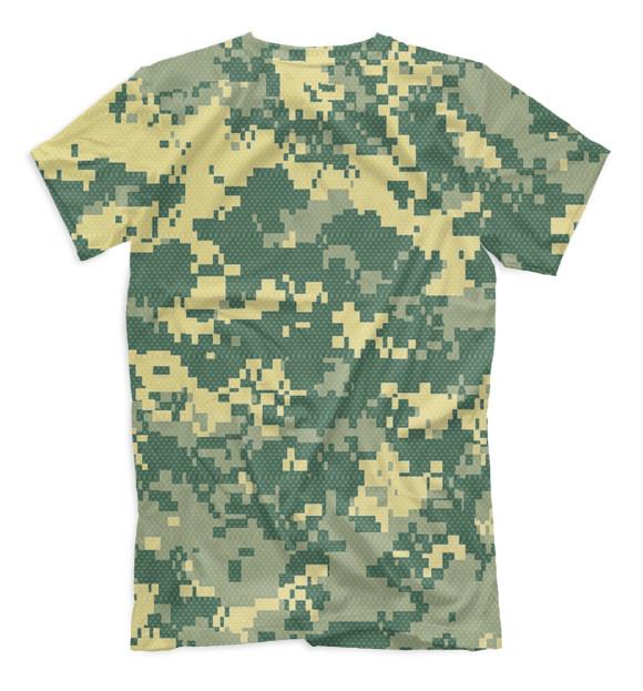 Мужская футболка с изображением Рыбометр цвета Белый