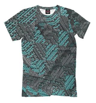 Мужская футболка Абстракция 3D