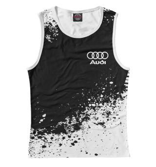 Майка для девочки Audi abstract sport uniform