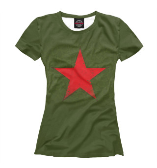 Женская футболка Звезда