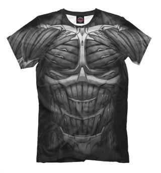 Мужская футболка Экзоскелет Crysis