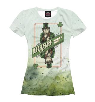 Женская футболка Saint Patrick's Day