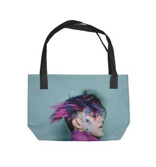Пляжная сумка Lil Peep