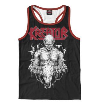 Мужская майка-борцовка Kreator - thrash metal band