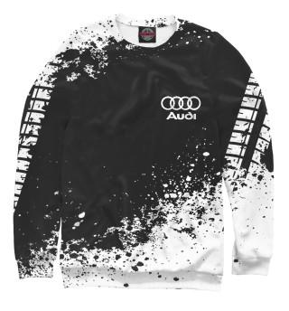 Свитшот для девочек Audi abstract sport uniform