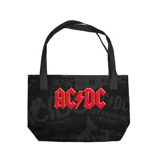 Пляжная сумка AC/DC