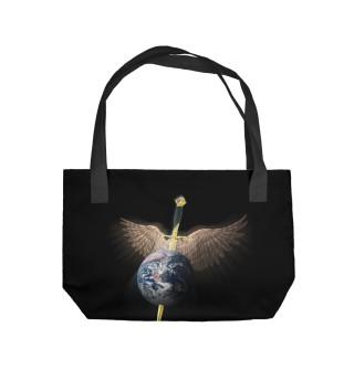 Пляжная сумка Bon Jovi Logo