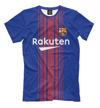 Мужская футболка Barcelona Домашняя-Месси 10