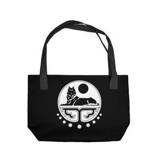 Пляжная сумка Borz. Волк