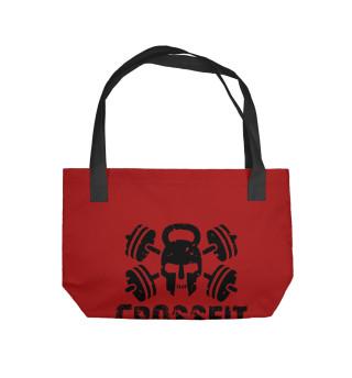 Пляжная сумка Crossfit Skull