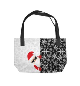 Пляжная сумка С Новым Годом!