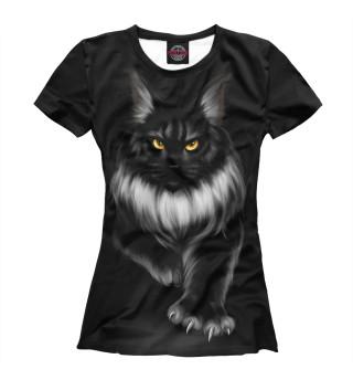 Женская футболка Мейн-кун