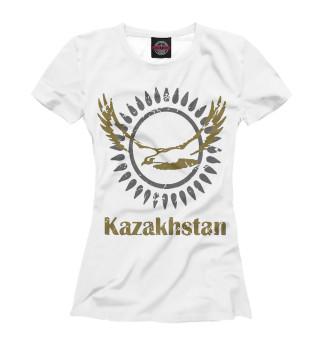 Футболка для девочек Солнечный Казахстан
