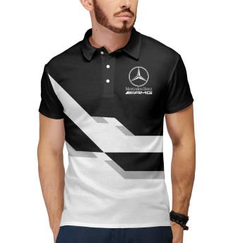 Мужское поло Mersedes-Benz AMG
