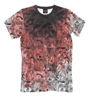 Мужская футболка Ahegao Blood
