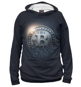 Мужское худи Bitcoin