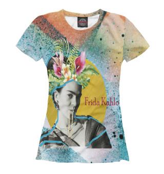 Женская футболка Фрида Кало
