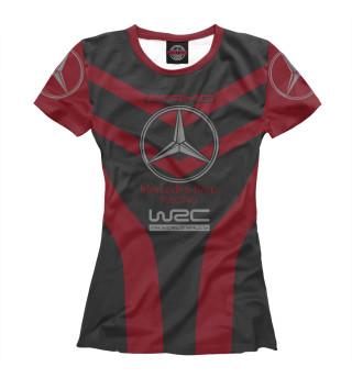 Женская футболка Mercedes-Benz