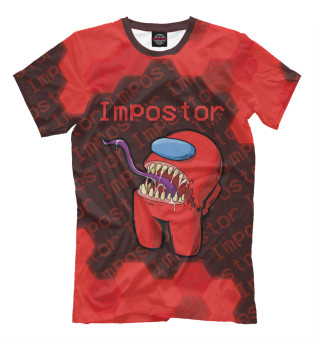 Мужская футболка Among Us - Monster