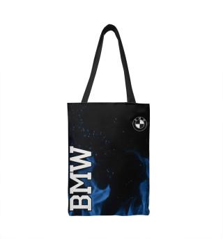 Сумка-шоппер BMW blue fire