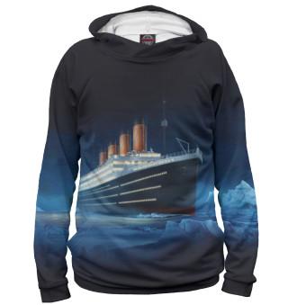 Мужское худи Титаник
