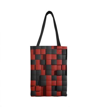 Сумка-шоппер Кубики