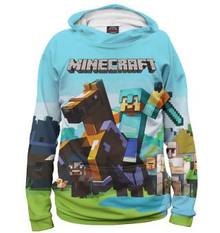 Худи для девочки Minecraft