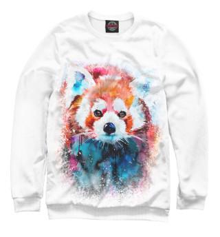 Женский свитшот Красная панда