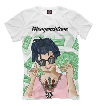 Женская футболка MORGENSHTERN - Уфф... Деньги...
