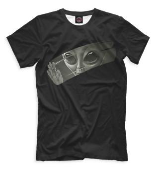 Мужская футболка Инопланетянин