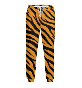 Текстура плосатого тигра