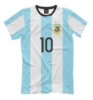 Мужская футболка Месси Форма Сборной Аргентины