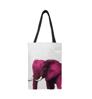 Слон фуксия