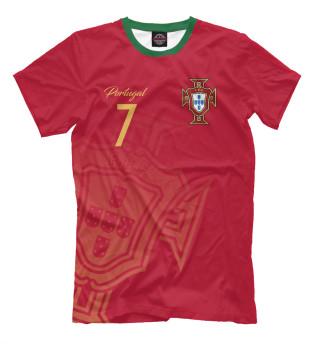 Мужская футболка Криштиану Роналду - Сборная Португалии