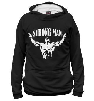Мужское худи Strong man