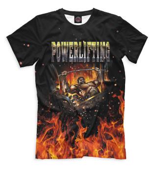 Мужская футболка Пауэрлифтинг