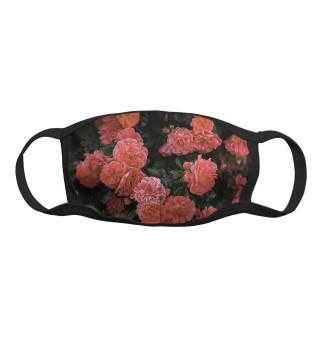 Маска тканевая Цветы