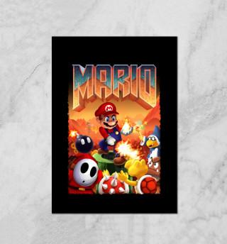 Mario Doom