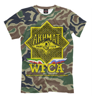 Мужская футболка Akhmat WFCA