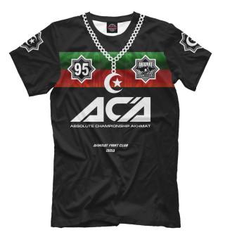 Мужская футболка Akhmat Fight Club ACA