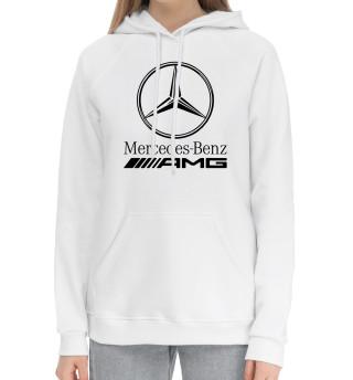 Женский хлопковый худи Mersedes-Benz AMG