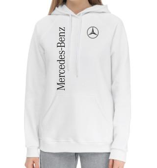 Женский хлопковый худи Mercedes-Benz